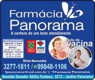 PANORAMA FARMÁCIA MEDICAMENTOS E PERFUMARIAS / DISK REMÉDIOS