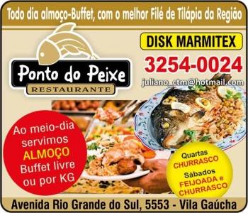 PONTO DO PEIXE RESTAURANTE / PIZZARIA / DISK MARMITEX