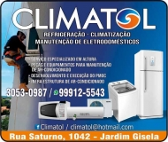 CLIMATOL REFRIGERAÇÃO / CLIMATIZAÇÃO