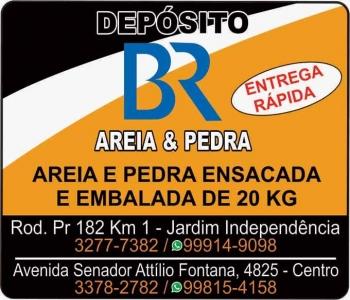 DEPÓSITO BR AREIA E PEDRA / MATERIAIS DE CONSTRUÇÃO