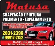 MATUSA CHAPEAÇÃO E PINTURA AUTOMOTIVA