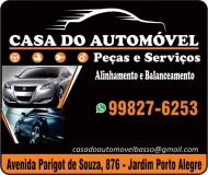 CASA DO AUTOMÓVEL PEÇAS E SERVIÇOS AUTOPEÇAS