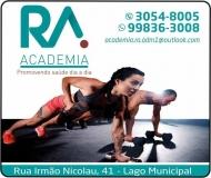 RA ACADEMIA / MUSCULAÇÃO / PERSONAL TRAINER