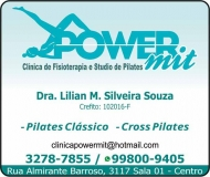 POWER MIT CLÍNICA DE FISIOTERAPIA / STUDIO DE PILATES
