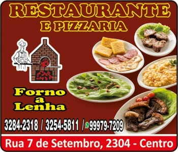 FORNO A LENHA RESTAURANTE / PIZZARIA / DISK PIZZA