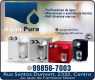 ÁGUA PURA PURIFICADORES DE ÁGUA