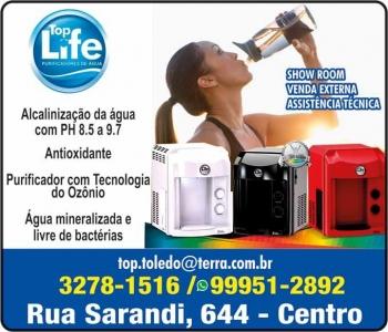 TOP LIFE PURIFICADORES DE ÁGUA / FILTROS