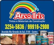 ARCO-ÍRIS TINTAS MATERIAIS DE CONSTRUÇÃO