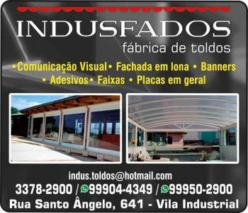 INDUSFADOS FÁBRICA DE TOLDOS / COMUNICAÇÃO VISUAL