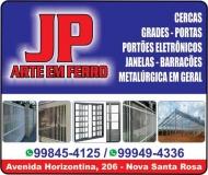 JP ARTE EM FERRO METALÚRGICA E FUNILARIA