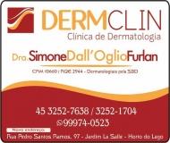 CLÍNICA DE DERMATOLOGISTA SIMONE DALL'OGLIO FURLAN / DERMATOLOGIA / DOENÇAS DE PELE / DERMCLIN