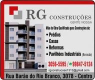 RG CONSTRUÇÕES CONSTRUTORA