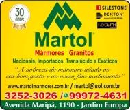 MARTOL MARMORARIA / MÁRMORES E GRANITOS