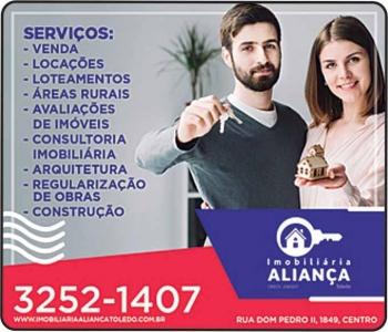 ALIANÇA TOLEDO IMOBILIÁRIA / CORRETORA DE IMÓVEIS