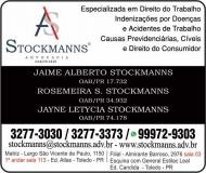 ADVOCACIA ROSEMEIRA S. STOCKMANNS / DIREITO TRABALHISTA / STOCKMANNS