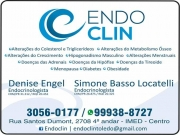 Cartão: CLÍNICA DE ENDOCRINOLOGISTA SIMONE BASSO / OBESIDADE / TIREOIDE / DIABETES / ENDOCLIN