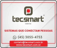 TECSMART SISTEMAS E RELÓGIO DE PONTO