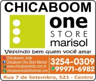 CHICABOOM ONE STORE MODA INFANTIL LOJA