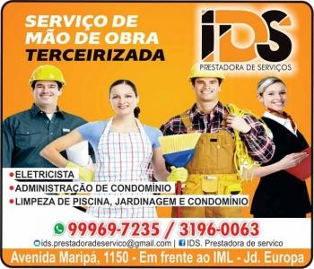 IDS PRESTADORA DE SERVIÇOS / ADMINISTRAÇÃO E LIMPEZA DE CONDOMÍNIOS
