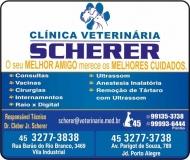 SCHERER CLÍNICA VETERINÁRIA / CASTRAÇÃO / RADIOLOGIA DIGITAL CANINA / AGROVETERINÁRIA