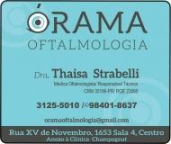 CLÍNICA DE OFTALMOLOGISTA THAISA STRABELLI / ÓRAMA