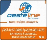 OESTELINE TELECOM PROVEDOR DE INTERNET FIBRA ÓPTICA / TELEFONIA E IPTV