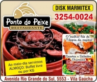 PONTO DO PEIXE RESTAURANTE / DISK MARMITEX