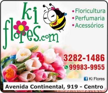 KI FLORES.COM FLORICULTURA E PERFUMARIA