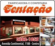 TENTAÇÃO PANIFICADORA E CONFEITARIA