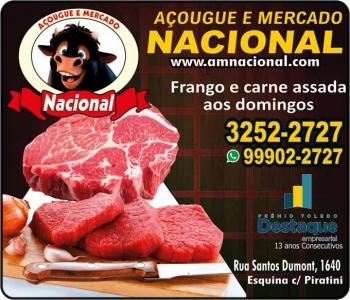 NACIONAL AÇOUGUE E MERCADO / CARVÃO / GELO