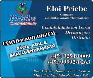 PRIEBE CONTABILIDADE E ASSESSORIA EMPRESARIAL / ESCRITÓRIO CONTÁBIL