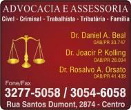 ADVOCACIA JOACIR PEDRO KOLLING / DIREITO PREVIDENCIÁRIO