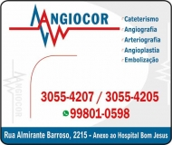 CLÍNICA DE CARDIOLOGIA ANGIOCOR / HEMODINÂMICA / CARDIOLOGISTA / ANGIOPLASTIA E CATETERISMO