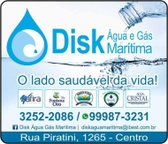 MARÍTIMA / DISK ÁGUA MINERAL E GÁS / OURO FINO