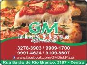 Anuncio - GM PIZZARIA GERVASIO PIZZA