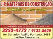Anuncio - JR MATERIAIS DE CONSTRUÇÃO