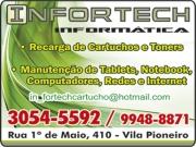 Anuncio - INFORTECH INFORMÁTICA<br>CARTUCHOS