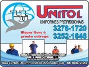 Anuncio - UNITOL UNIFORMES PROFISSIONAIS