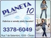 Anuncio - PLANETA 10 LOJA DE CONFECÇÕES