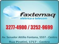 FAXTEMAQ CELULARES TIM<br>FAXTEMAQ TELECOMUNICAÇÕES