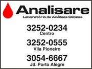 LABORATÓRIO ANALISARE