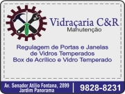 Anuncio - CR Vidraçaria