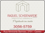 Anuncio - RTS ARQUITETURA E URBANISMO<BR>RAQUEL THEOBALD SCHOENARDIE - Arquiteta e Urbanista
