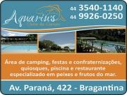 Anuncio - AQUARIUS PETISCARIA CLUBE DE CAMPO