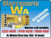 Anuncio - MARCENARIA W.A MÓVEIS SOB MEDIDA / PLANEJADOS